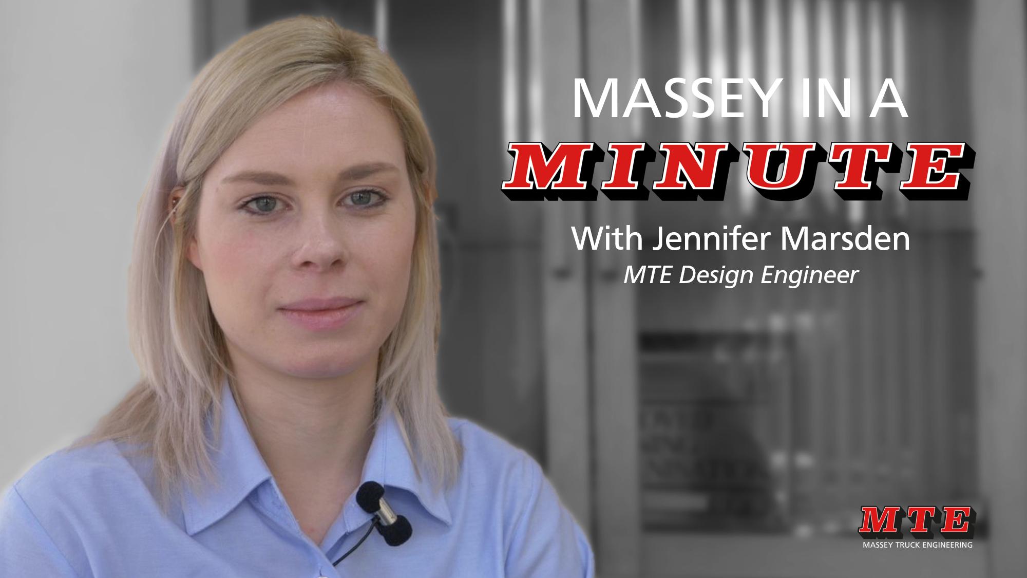 Massey in a Minute: Jennifer Marsden